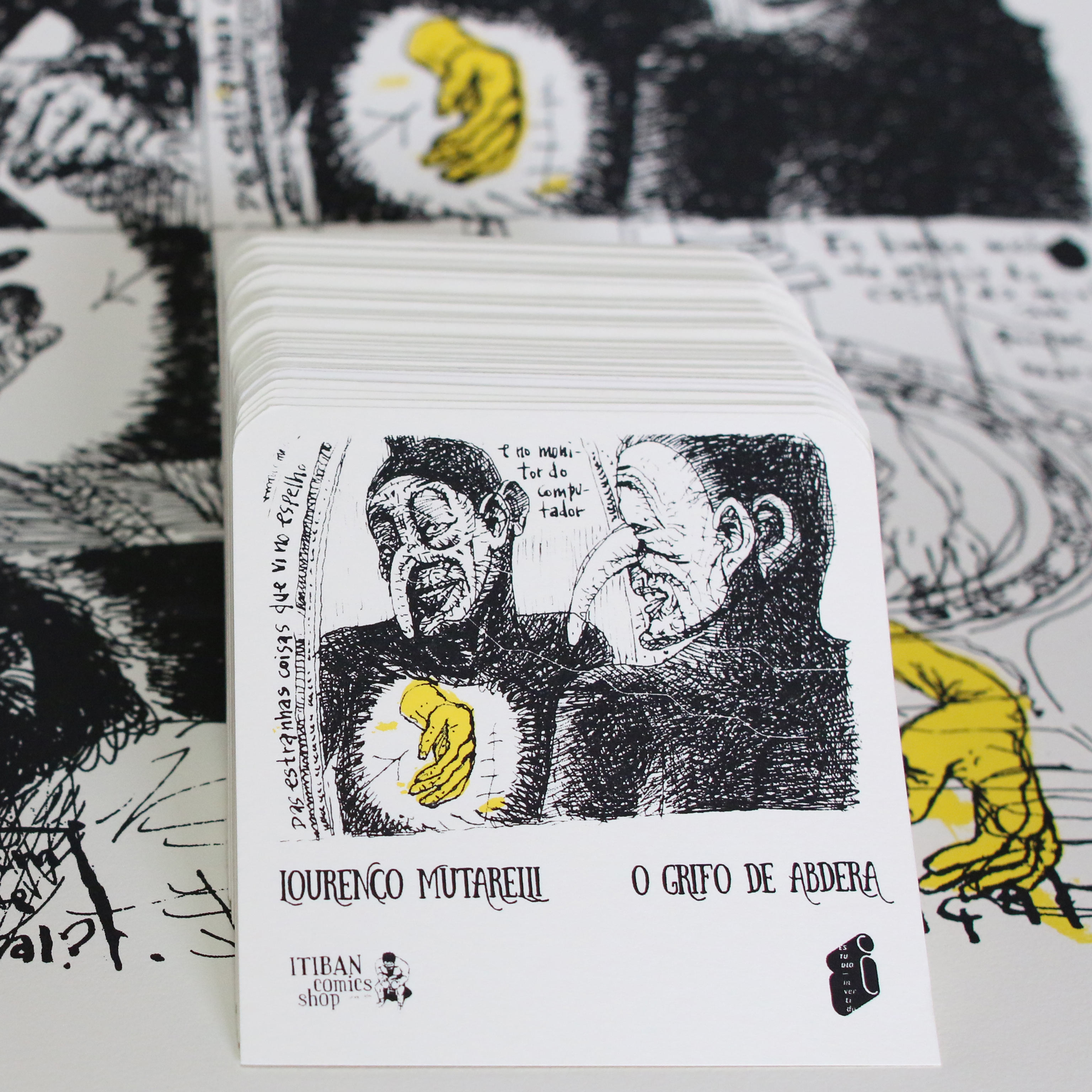Cartaz e Ex-Libris– Lourenço Mutarelli