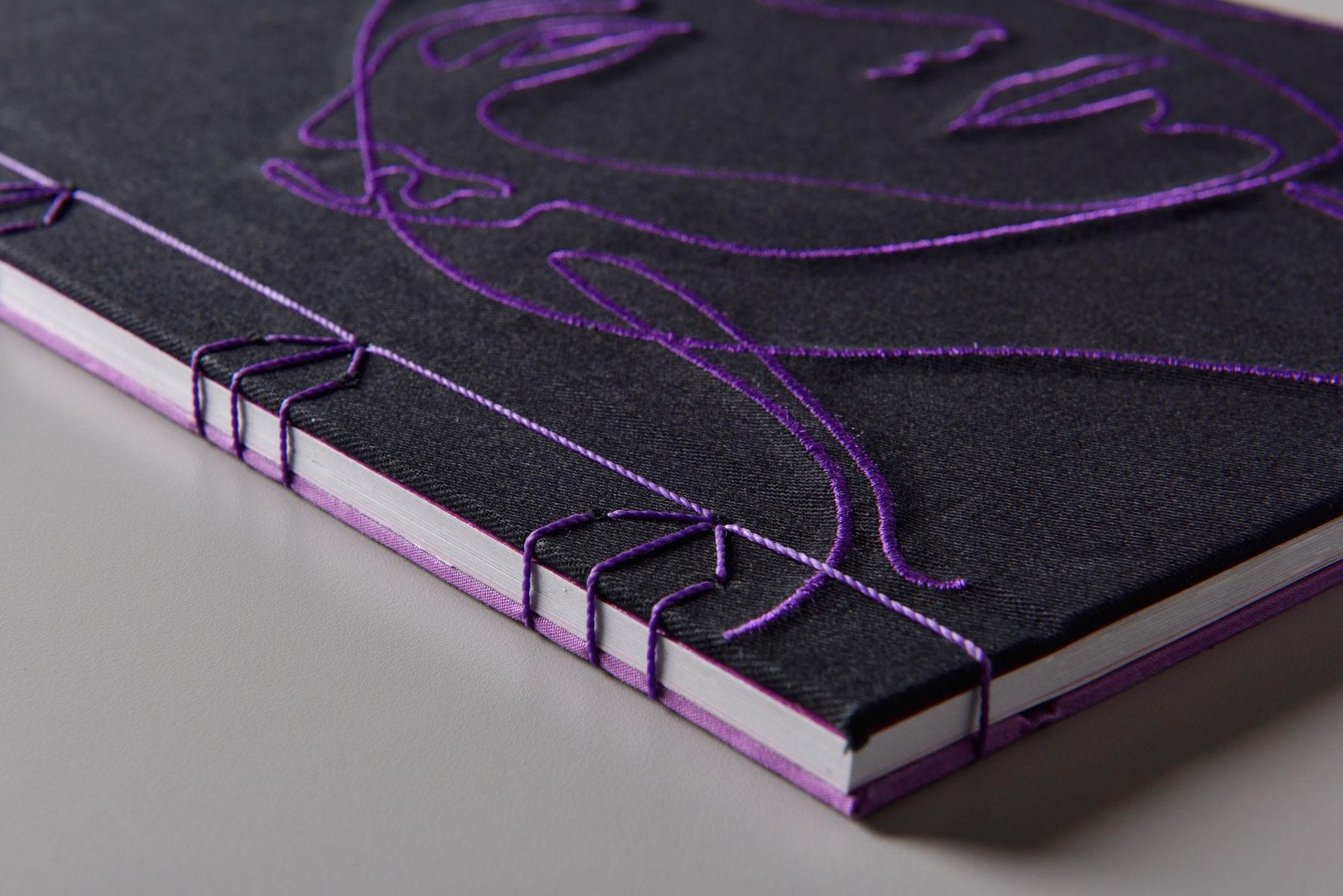 Costura japonesa, encadernação artesanal, livro de arte, livro especial, editora de arte