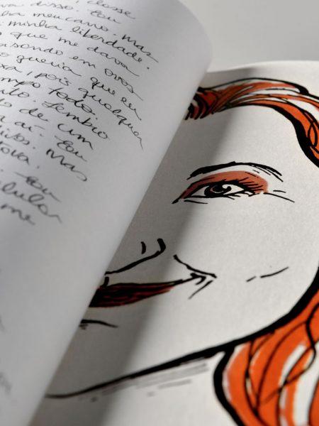 encadernação artesanal, livro de arte, livro especial, projeto especial, Dia das Mulheres, edição especial